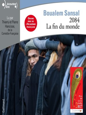 cover image of 2084. La fin du monde