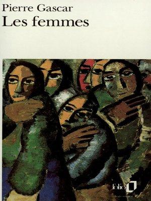 cover image of Les femmes
