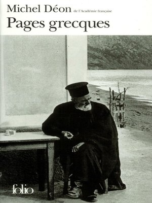 cover image of Pages grecques