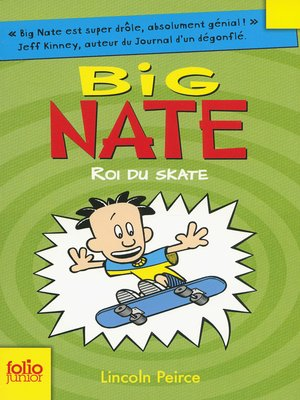cover image of Big Nate (Tome 3)--Roi du skate