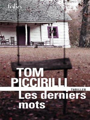 cover image of Les derniers mots