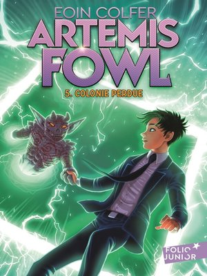cover image of Artemis Fowl (Tome 5)--Colonie perdue
