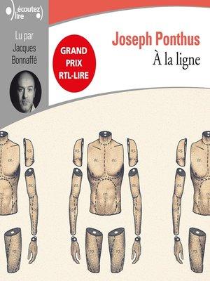 cover image of À la ligne