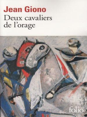 cover image of Deux cavaliers de l'orage