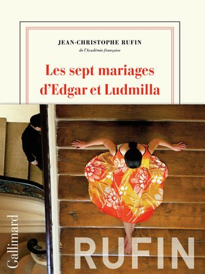 cover image of Les sept mariages d'Edgar et Ludmilla