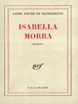 cover image of Isabella Morra
