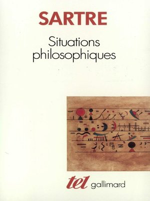 cover image of Situations philosophiques