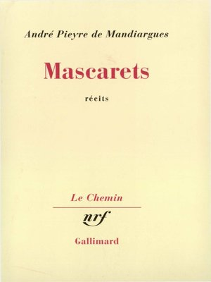 cover image of Mascarets