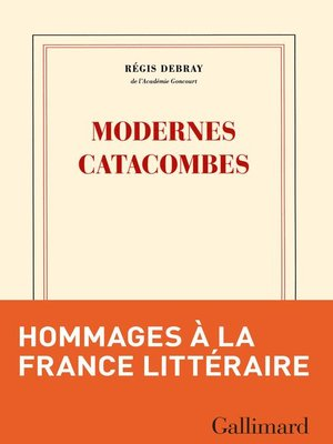 cover image of Modernes catacombes