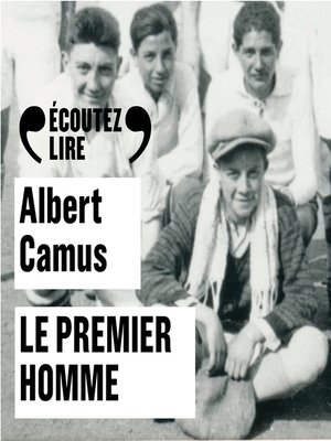 cover image of Le premier homme