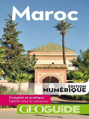 cover image of GEOguide Maroc