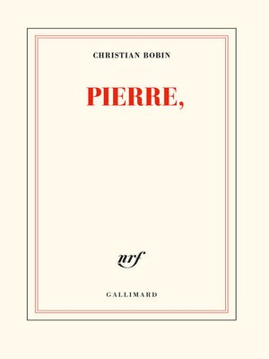 cover image of Pierre,