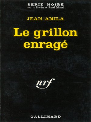cover image of Le grillon enragé