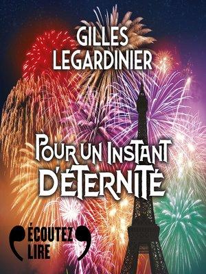 cover image of Pour un instant d'éternité