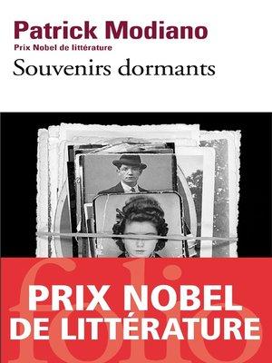 cover image of Souvenirs dormants