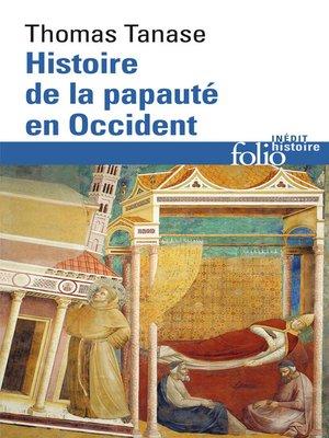 cover image of Histoire de la papauté en Occident