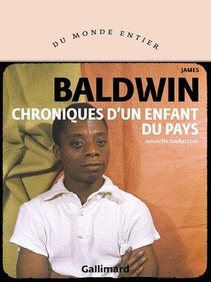 cover image of Chroniques d'un enfant du pays
