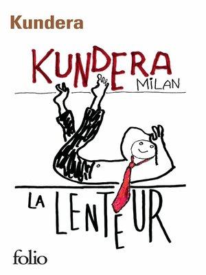 cover image of La lenteur