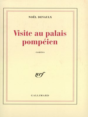 cover image of Visite au palais pompéien