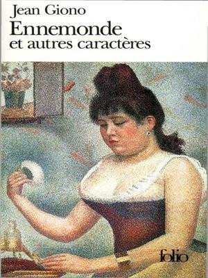 cover image of Ennemonde et autres caractères
