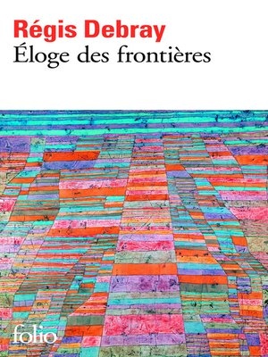 cover image of Eloge des frontières