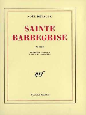 cover image of Sainte Barbegrise