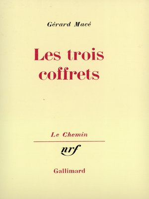 cover image of Les trois coffrets