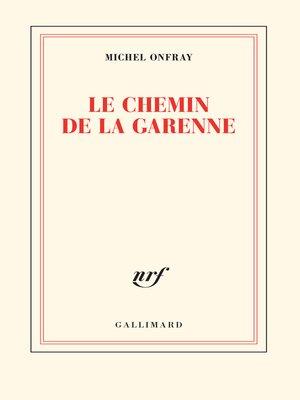 cover image of Le chemin de la Garenne