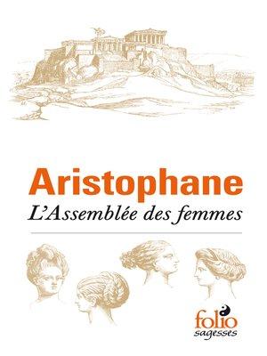 cover image of L'Assemblée des femmes
