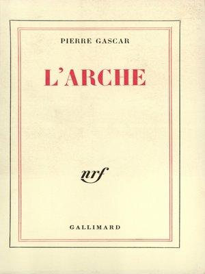 cover image of L'Arche