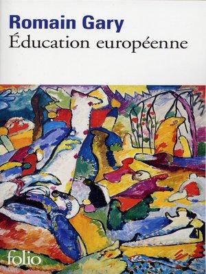 cover image of Éducation européenne