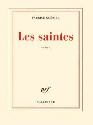 cover image of Les saintes