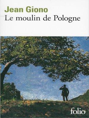 cover image of Le moulin de Pologne