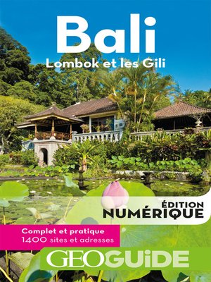 cover image of GEOguide Bali. Lombok et les Gili