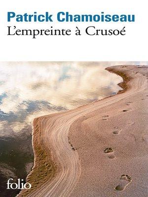 cover image of L'empreinte à Crusoé