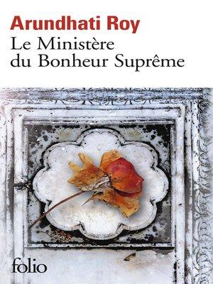 cover image of Le Ministère du Bonheur Suprême