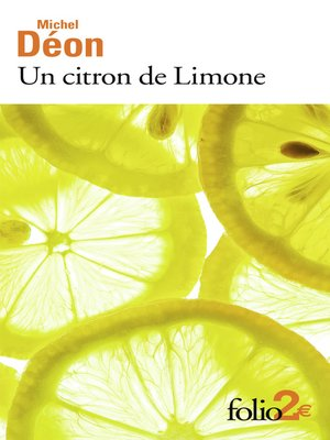 cover image of Un citron de Limone / Oublie...