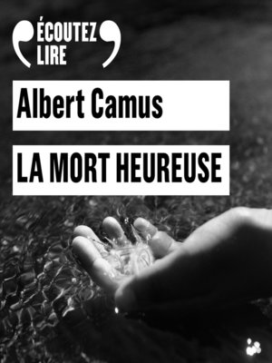 cover image of La mort heureuse