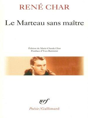 cover image of Le marteau sans maitre / Moulin premier