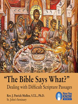 "cover image of ""The Bible Says What?"""