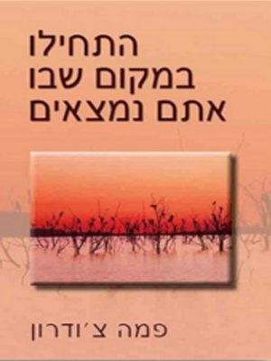 cover image of התחילו במקום שבו אתם נמצאים - Start Where You Are: A Guide to Compassionate Living