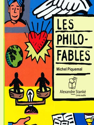 cover image of Les philo-fables