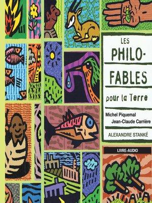 cover image of Les philo-fables pour la terre