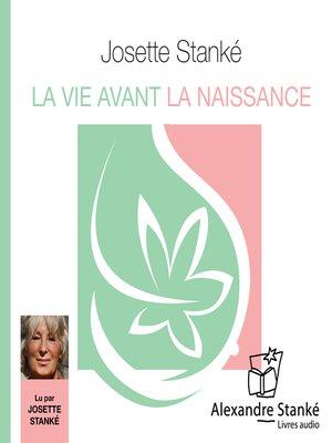 cover image of La vie avant la naissance