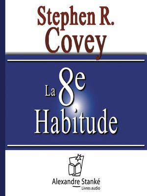 cover image of La 8e habitudes