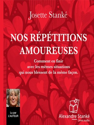 cover image of Nos répétitions amoureuses