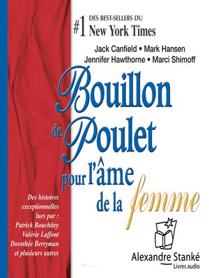 cover image of Bouillon de poulet pour l'âme des femmes