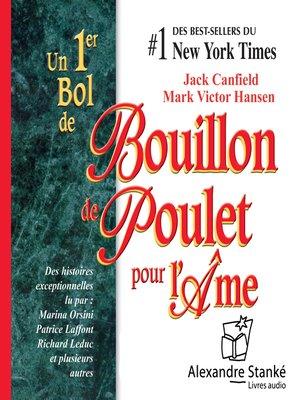 cover image of Bouillon de poulet pour l'âme