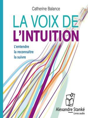 cover image of La voix de l'intuition