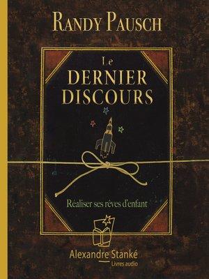 cover image of Le dernier discours